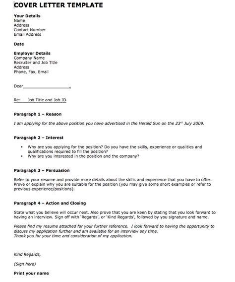 free cover letter template 59 cover letter on application metroproper