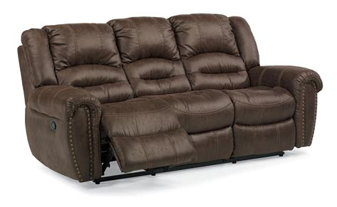 Flexsteel Latitudes Reclining Sofa Flexsteel Latitudes New Town Power Reclining Sofa With