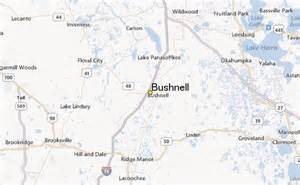 map of bushnell florida bushnell weather station record historical weather for