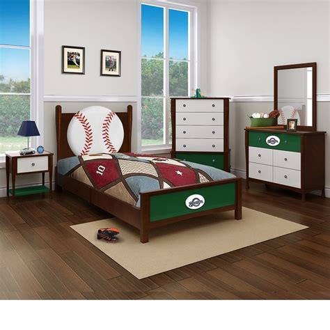 baseball furniture bedroom in a box and milwaukee brewers