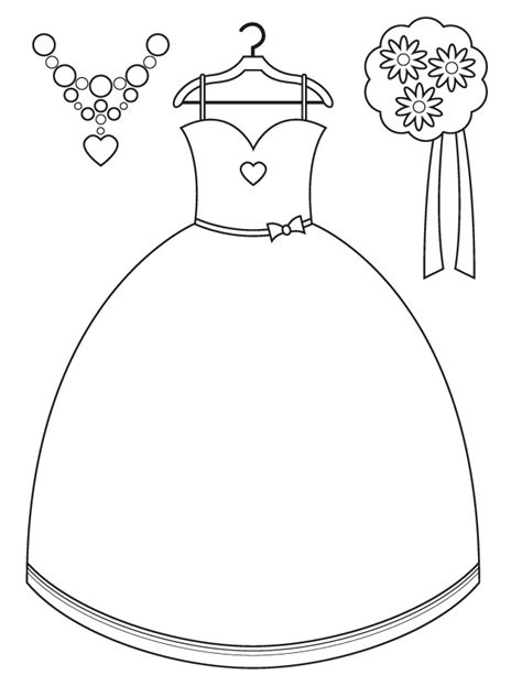 wedding coloring pages wedding day