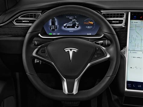 4 Door Tesla Image 2016 Tesla Model X Awd 4 Door 75d Steering Wheel
