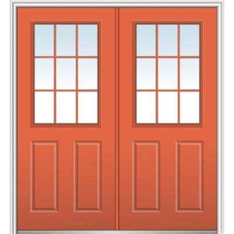 9 lite doors with glass steel doors the home depot