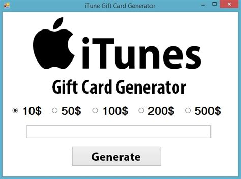 Mobile Gift Card Generator - free itunes codes via gift cards generator