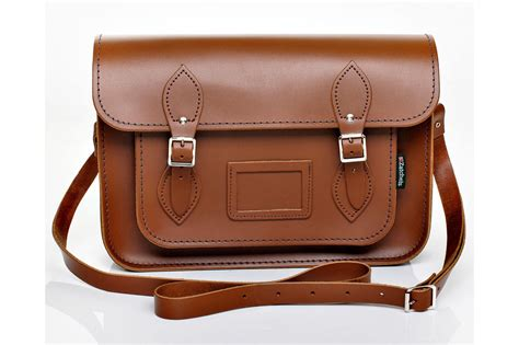Sachele Brown chestnut leather satchel wishlist leather
