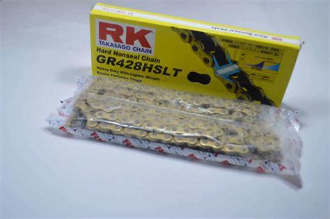 Rantai Sss Gold 428sb 130l rk drive chain gold gr428hslt 130l 40530k45ggld