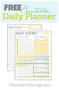 Free Printable Daily Planner Template by Printable Daily Planner New Calendar Template Site