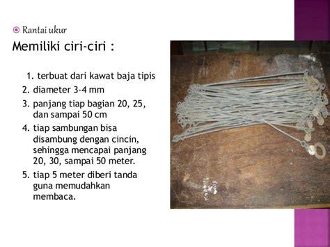 Perekat Kain 2 Sisi Lebar 50 Cm 5 Meter pengenalan alat ukur tanah dasar