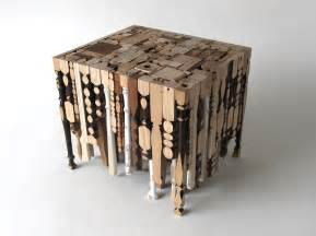 Furniture Made Out Of Recycled Materials Eking It Out Table Is Made Out Of Recycled Table Legs