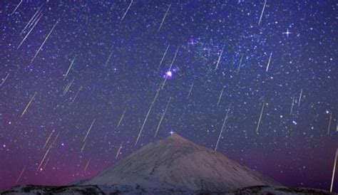 Meteor Shower Live by Geminids Meteor Shower 2016 Live From Canary Islands