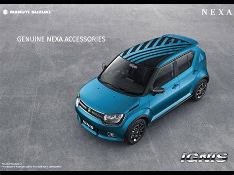 Suzuki Accessories Maruti Suzuki Ignis Accessories List Drivespark