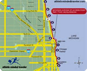 Chicago Bike Trail Map by Map Of Chicago Lakefront Path Pictures To Pin On Pinterest
