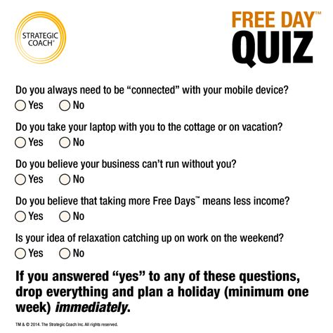 what free days are and how to when you need them