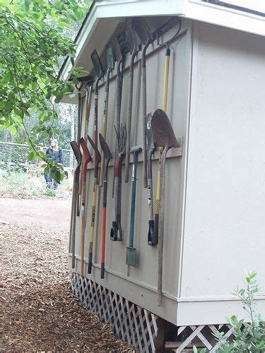25 Best Organize Outdoors Images On Pinterest Diy Garden Tool Storage Ideas