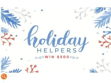 Hgtv Magazine Sweepstakes - hgtv magazine holiday helpers sweepstakes