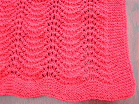 easy lace baby blanket knitting pattern best 25 easy knit baby blanket ideas on easy