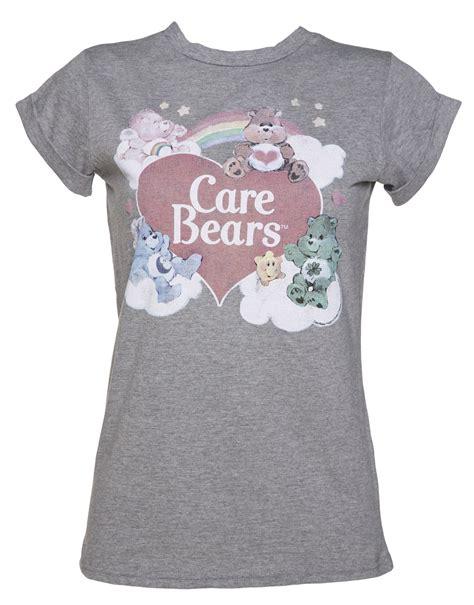 Boyfriend T Shirts S Vintage Care Bears Rolled Sleeve Boyfriend T Shirt