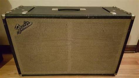Fender 2x12 Cabinet Vintage 1960 S Reverb