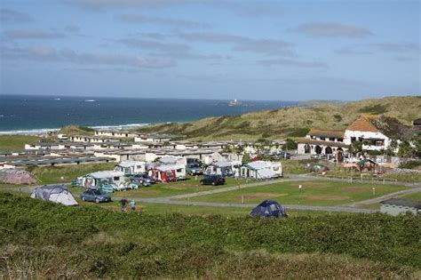 holiday house bayfield st ives bay hayle cornwall beachside holiday park is right on the beach in st ives