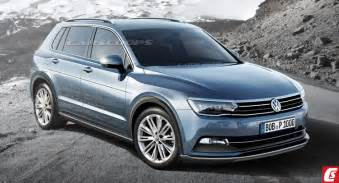vw new cars future cars vw sends all new 2016 tiguan suv to the