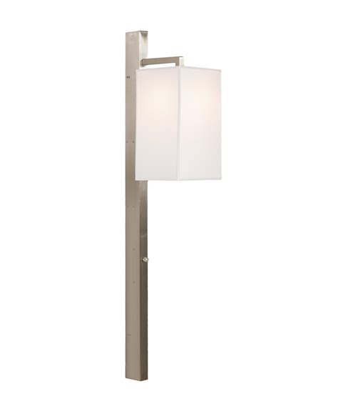 Narrow Wall Sconce Wildwood 25030 Narrow Wall Sconce Nickel Wall Sconce Capitol Lighting 1 800lighting