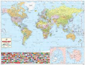 buy world best world map printed world wall map world