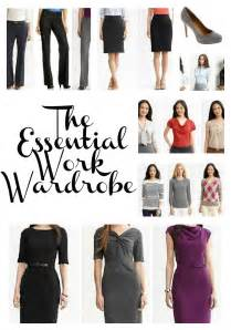Basic Work Wardrobe Essentials by The Essential Work Wardrobe Tixeretne