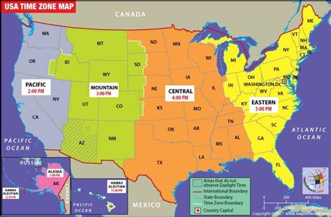 printable us map of time zones time zones usa map free world map