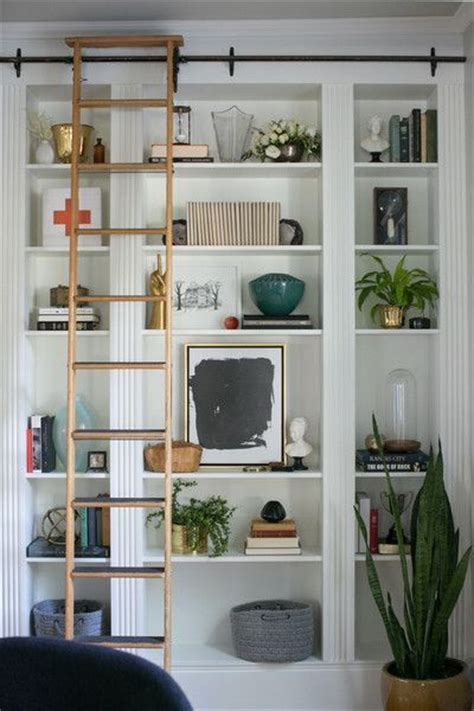 bookcase with sliding ladder 1000 ideas about bookcase with ladder on