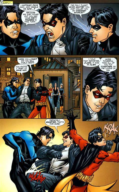 brotherly love tim drake comic vine