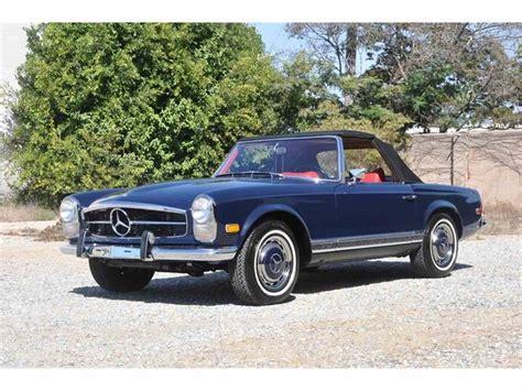 1969 mercedes 280sl 1969 mercedes 280sl for sale classiccars cc