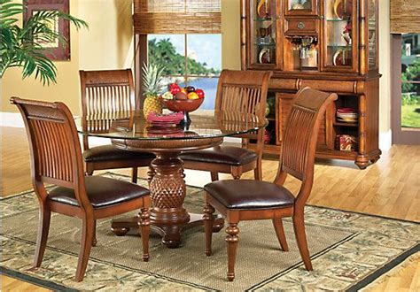pineapple dining table set pineapple pedestal dining table home design
