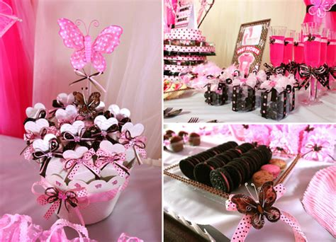 Butterfly Baby Shower Ideas by Pink And Brown Butterfly Baby Shower Ideas Baby