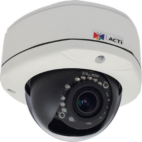 Ip Outdoor 1 3 Mp acti e88 1 3 mp outdoor ip dome with day e88 b h