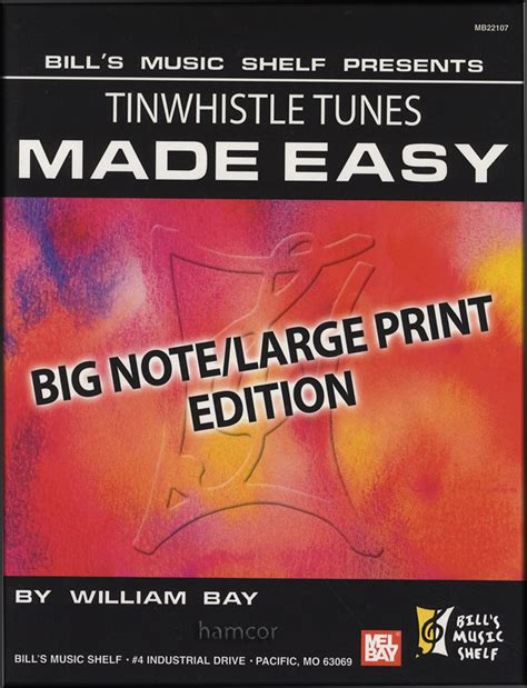 tunes on a whistle a derbyshire childhood books tinwhistle tunes made easy big note large print edition