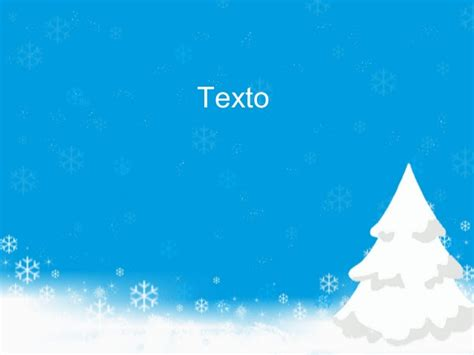 Snow On Christmas Powerpoint Background Design And Christmas Powerpoi Snow Powerpoint Template