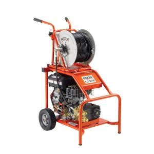 ridgid kj 3100 water jetter with hose reel 37413 the