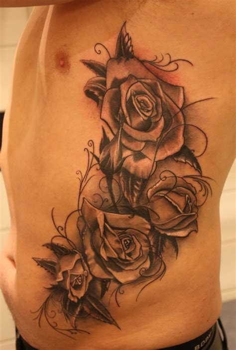 rose tattoos on ribs 129 best want it images on tatoos