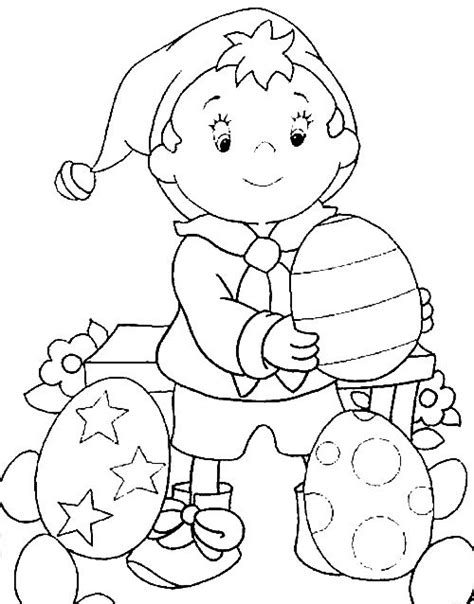 Coloring Noddy And Eggs Picture Cbeebies And Others Cbeebies Colouring Pages To Print