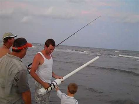 jetty fishing with a bait launcher doovi