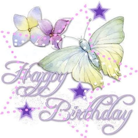 birthday clipart butterfly