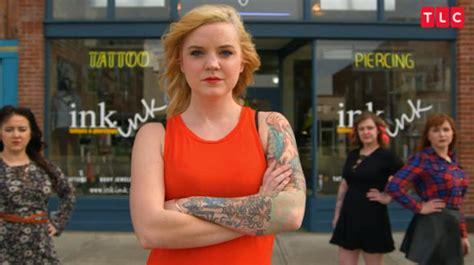 tattoo girl new tv show tattoo girls tlc s female tattoo artist series launches