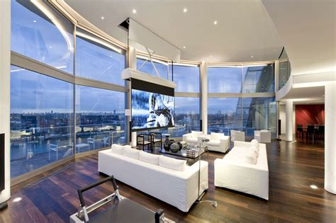 Riverside Dining Room Furniture by Thames Riverside Luxury Penthouse Apartment Idesignarch