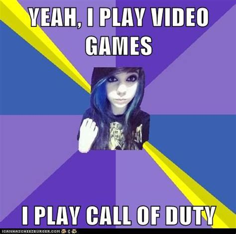 Girl Gamer Meme - fake gamer girl call of duty fake gamer girl know your