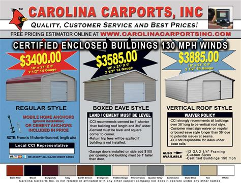 Car Port Prices by Pin Carport Garage On