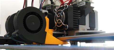 3d printer cooling fan 3d printed rigidbot dual cooling fan mount by jp1 pinshape