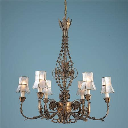Reproduction Chandeliers Florentine Reproduction Chandelier Shabby