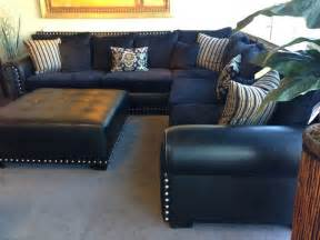 Navy Blue Leather Sofa And Loveseat Navy Blue Leather Sectional Sofa Home Furniture Design Ideas For The House