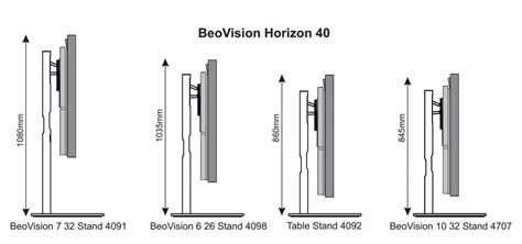beovision horizon  beovision   stand