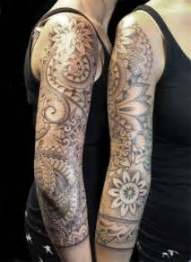 dot shading sleeve tattoo by punktum picture